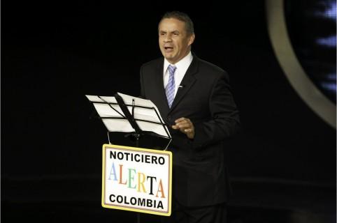 El humorista Juan Ricardo Lozano, más conocido como 'Alerta' o 'el Cuenta huesos'.1