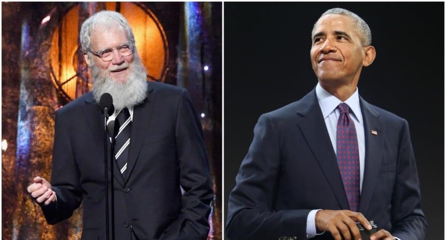 David Letterman / Barack Obama