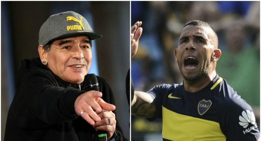 Diego Maradona / Carlos Tevez