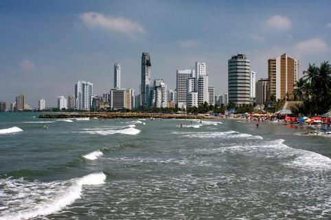Playa en Cartagena. Pulzo.