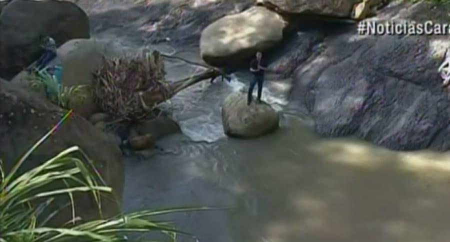 Río Calandaima, en el municipio de Viotá, Cundinamarca. Pulzo.