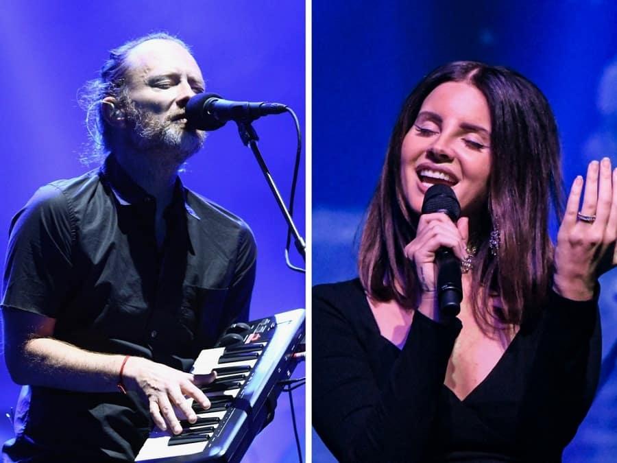 Radiohead y Lana del Rey enfrentados por una canción