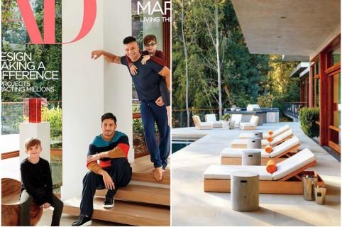 Casa de Ricky Martin y Jwan Yosef