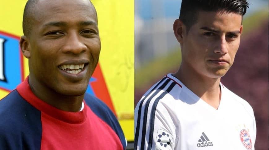 Edwin Congo y James Rodríguez