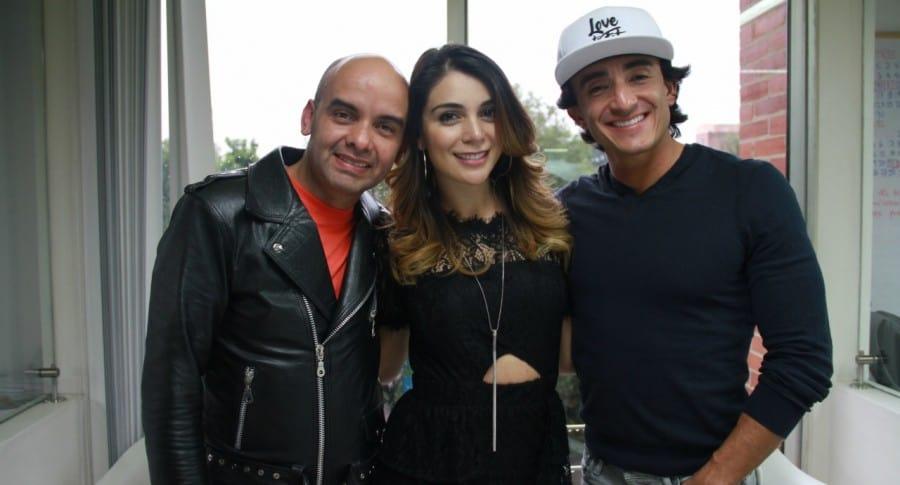 Jona Cabrera, Marilyn Patiño y Francisco Bolívar