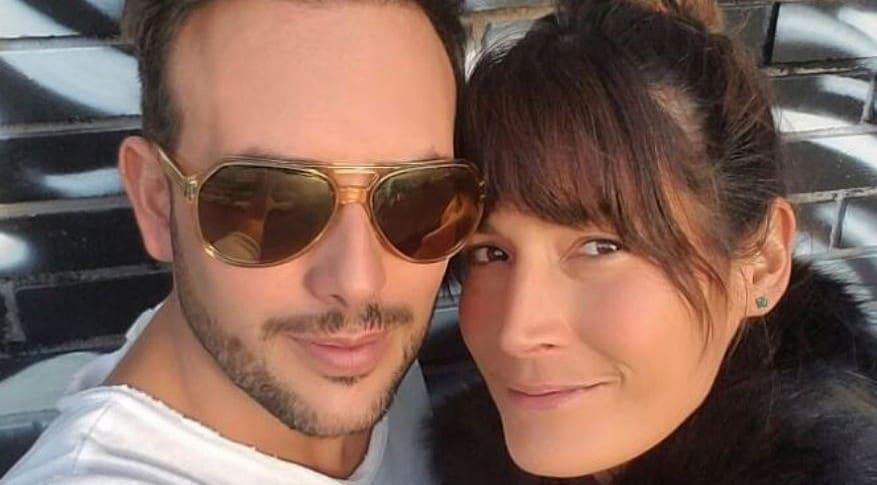 Sebatián Martínez y Kathy Sáenz
