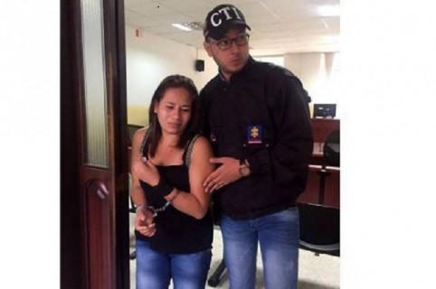 Angie Lisvey Rodríguez Mendoza, procesada por homicidio agravado