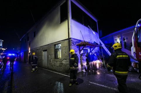 Incendio en centro de juegos de Portugal