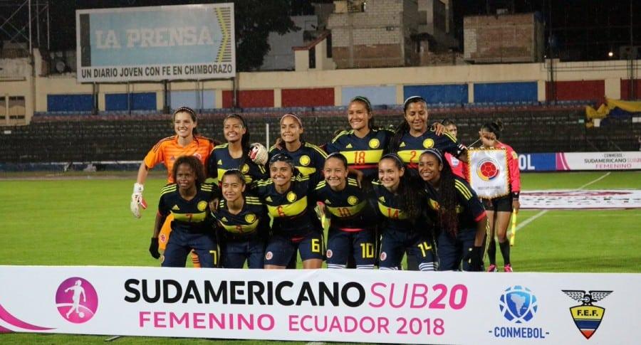 Selección femenina Sub 20