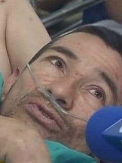 Emigdio Bernal Rojas, sobreviviente a caída de puente en vía Villavicencio-Bogotá. Pulzo.