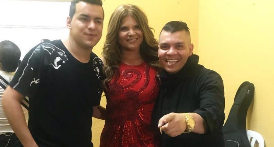 Yeison Jiménez, Diva Jessurum y Alzate