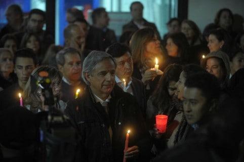 Protesta por inseguridad en sector de Rosales