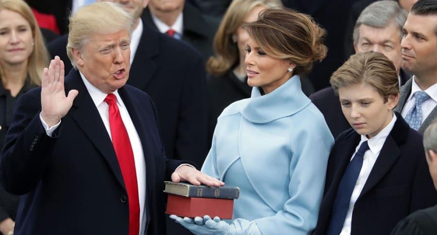 Posesión de Donald Trump
