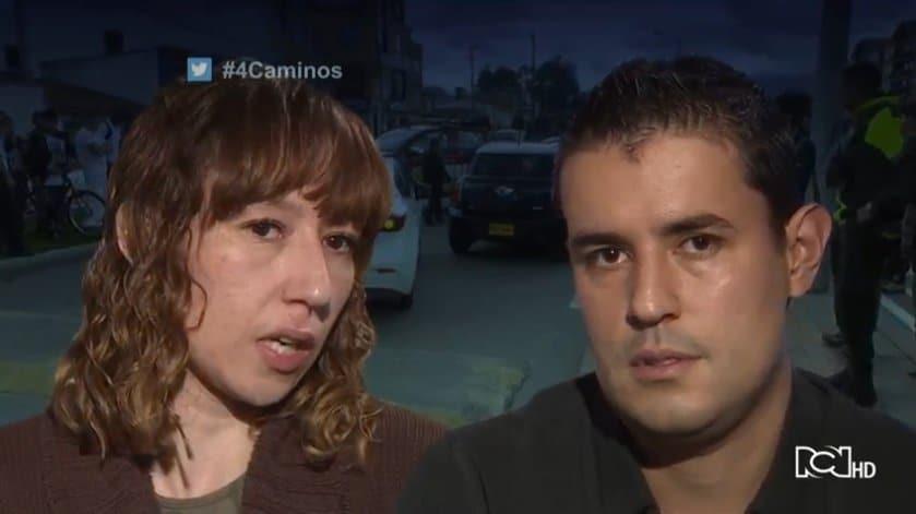 Lina Molina y Camilo García