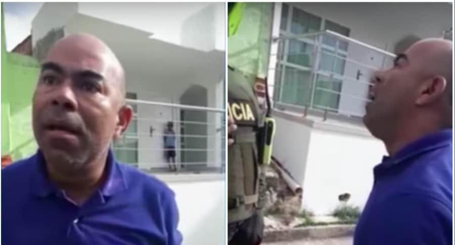 Helder de Jesús Delgado Rodero, funcionario que agredió verbalmente a policías en Santa Ana, Magdalena. Pulzo.