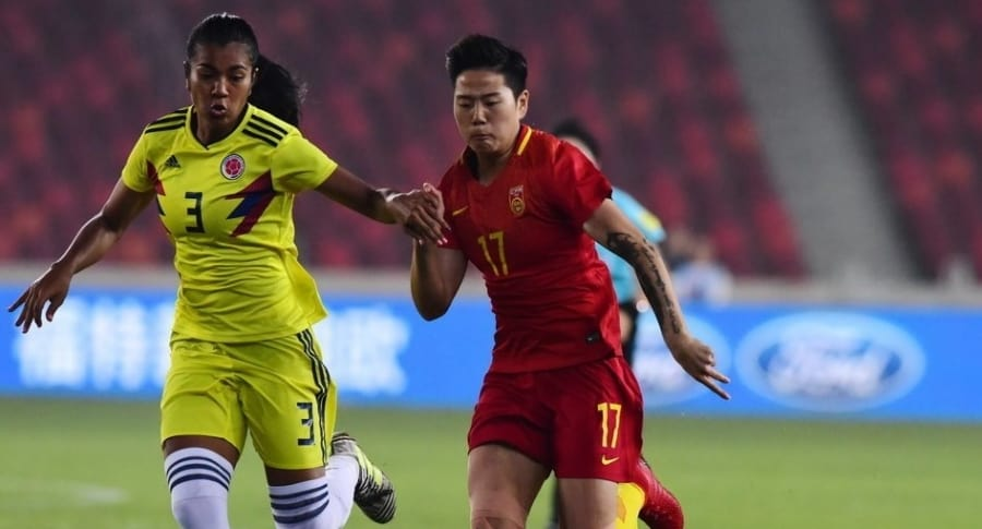 China 2-0 Colombia