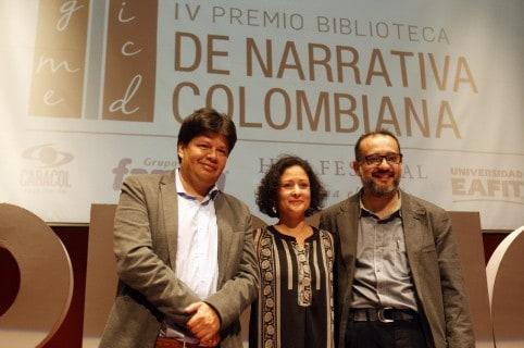 Pilar Quintana gana el Premio Biblioteca de Narrativa Colombiana