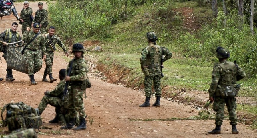 Combates del Ejército
