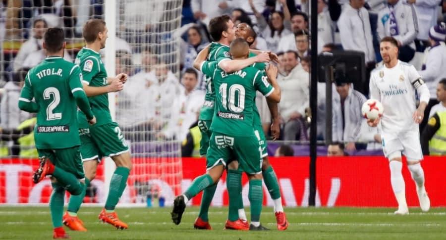 Leganés vence a Real Madrid