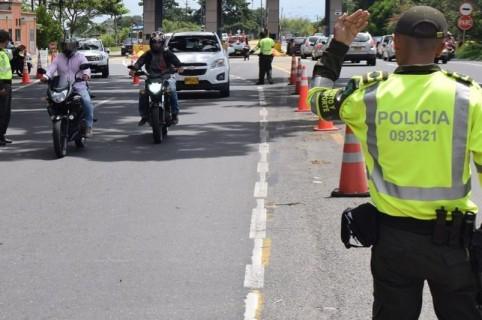 Policías de Tránsito