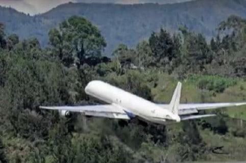 Despegue de avión en Rionegro