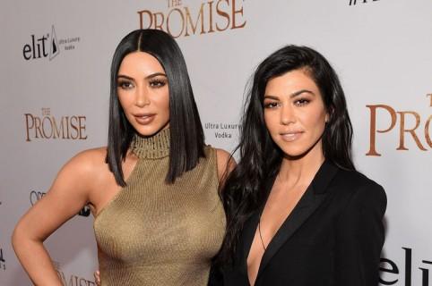 Kim Kardashian West  Kourtney Kardashian