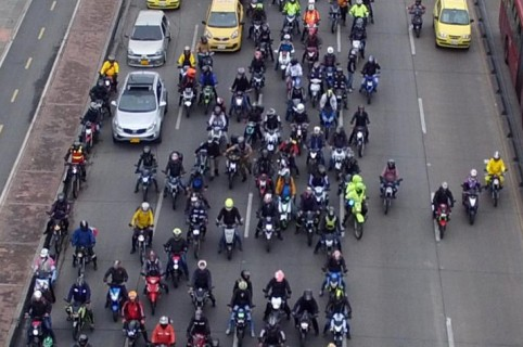 Protesta motociclistas