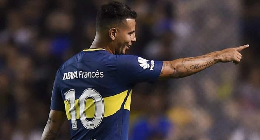 Edwin Cardona / Boca Juniors v Arsenal - Superliga 2017/18