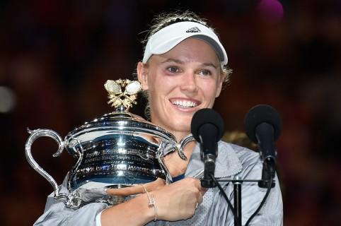 Caroline Wozniacki ganó el Abierto de Australia
