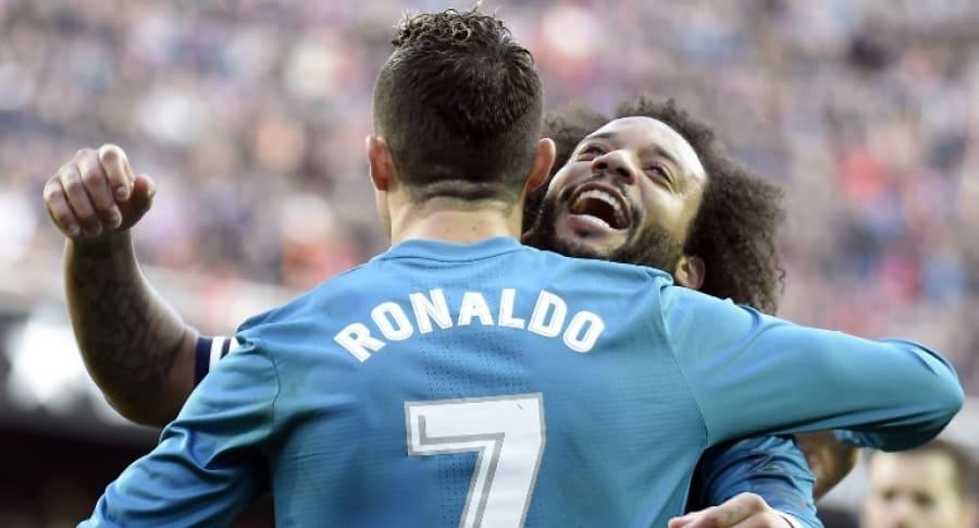 Cristiano Ronaldo y Marcelo