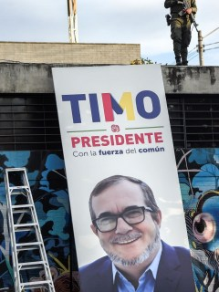 Campaña de Rodrigo Londoño, ates conocido como 'Timochenko'