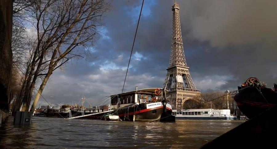 Río Sena, en París