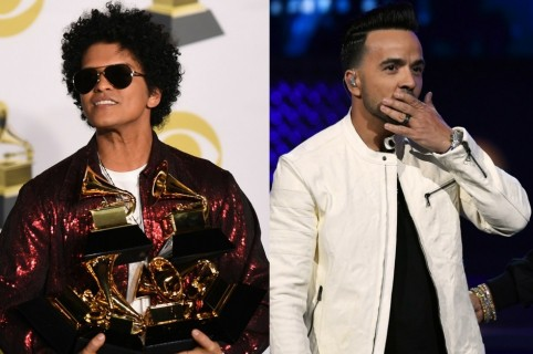 Bruno Mars y Luis Fonsi