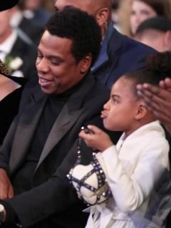 Beyonce, Jay-Z y Blue Ivy Carter