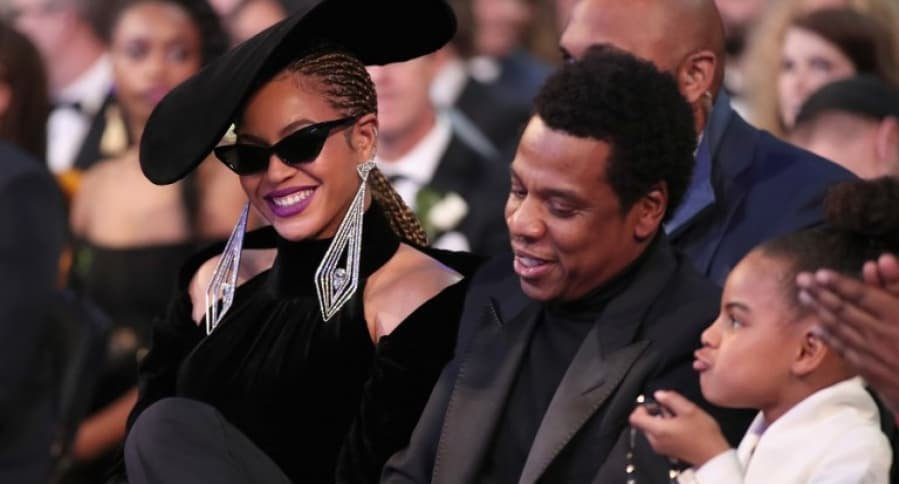 Beyonce, Jay-Z y Blue Ivy Carter