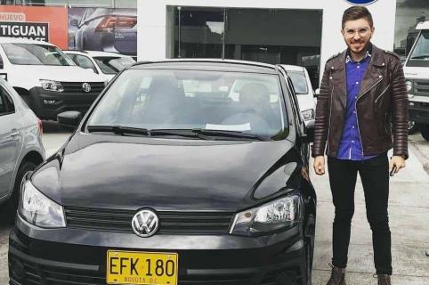 Juan Sebastián Salcedo Balceros. conductor de Uber asesinado