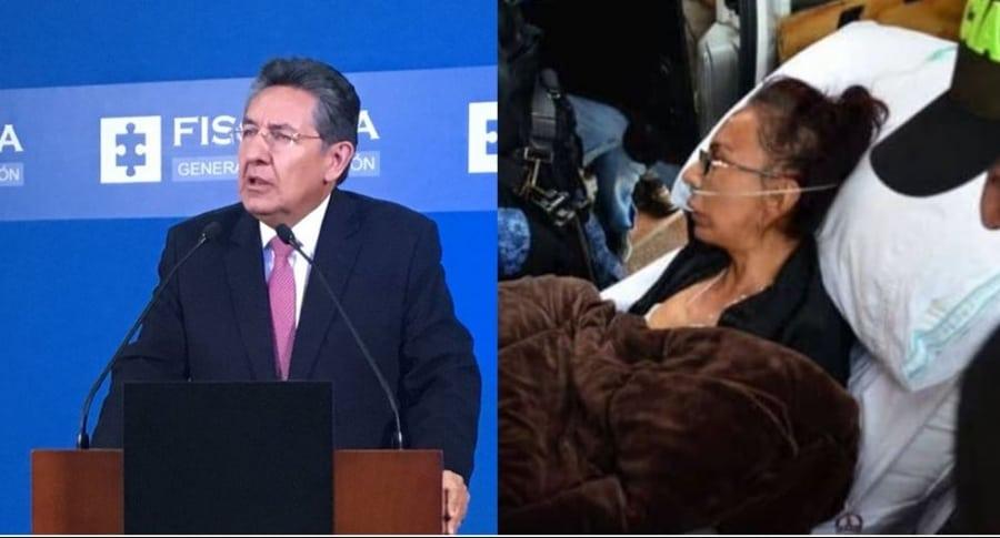 Fiscal Néstor Humberto Martínez y Enile López 'la Gata'