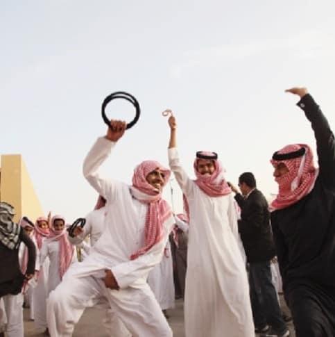 Baile en Arabia Saudita
