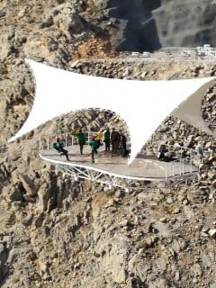 La tirolesa más larga del mundo
