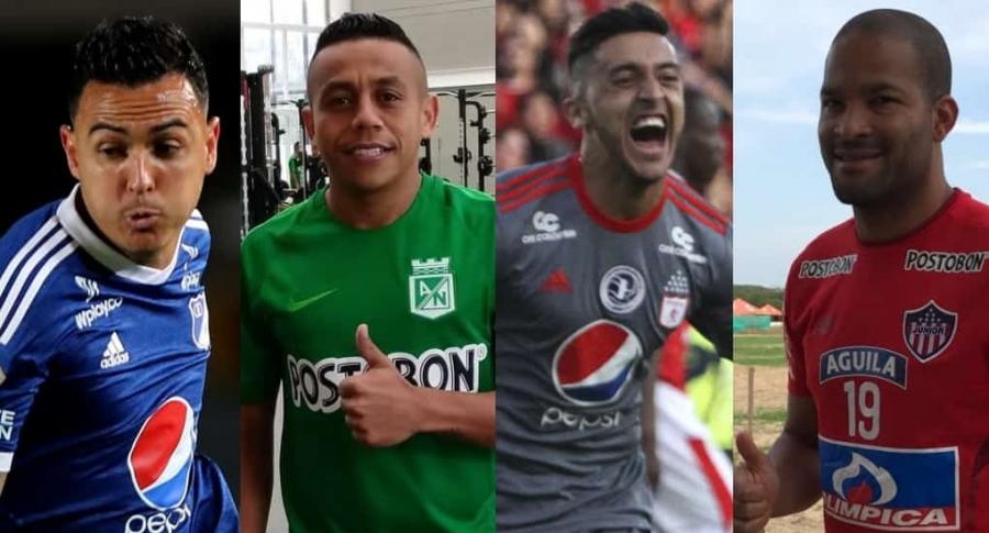 Santiago Montoya, Vladimir Hernández, Kevin Ramírez y Alberto Rodríguez