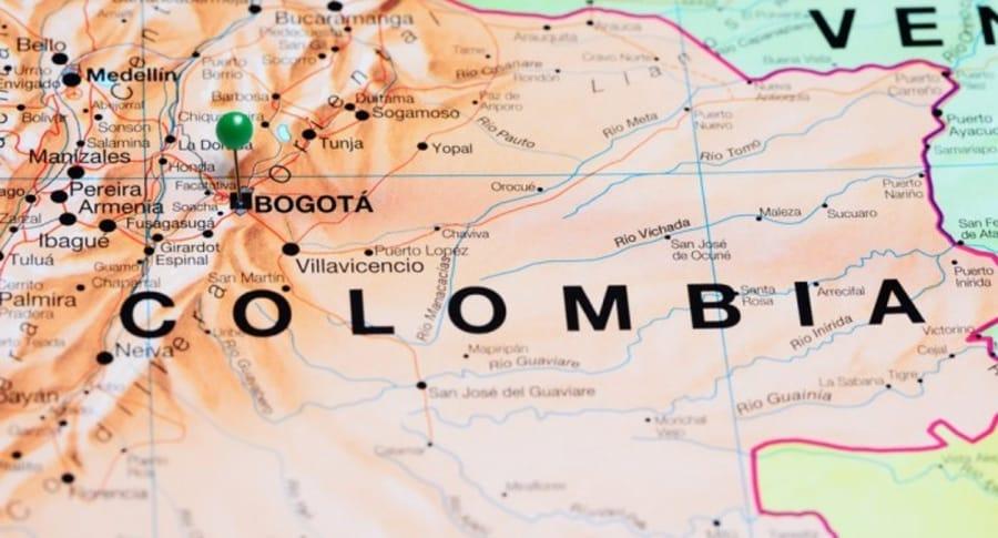 Colombia mapa