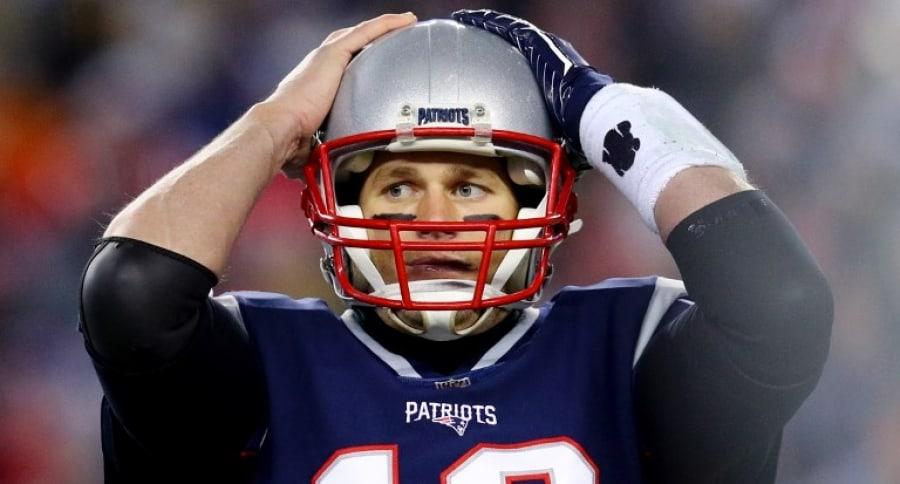 Tom Brady, mariscal de los Patriotas de Nueva Inglaterra
