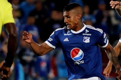 Santiago Mosquera, jugador de Millonarios