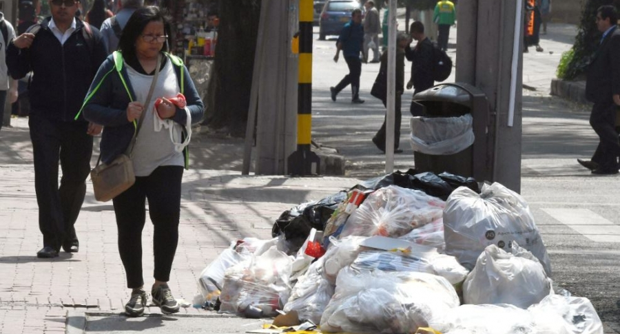 Basuras en Bogotá