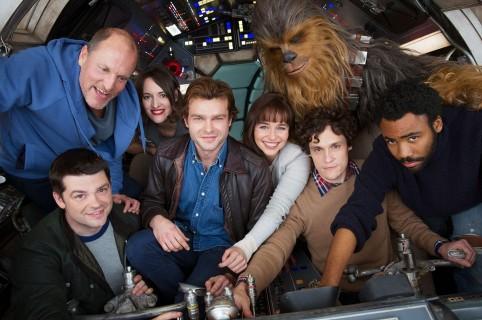 Elenco de 'Solo: A Star Wars Story'. Pulzo.