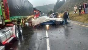 Accidente en vía Bogotá-Tunja