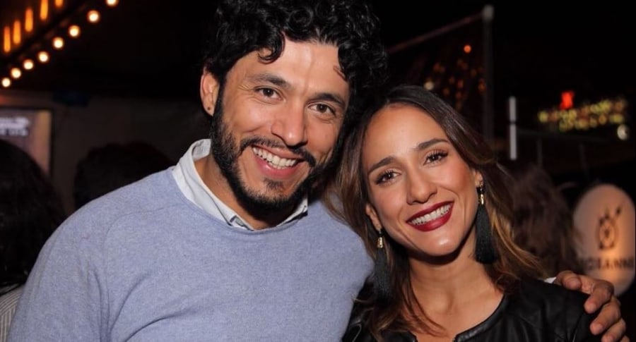 Santiago Alarcón y su esposa 'Chichila' Navia, actores.