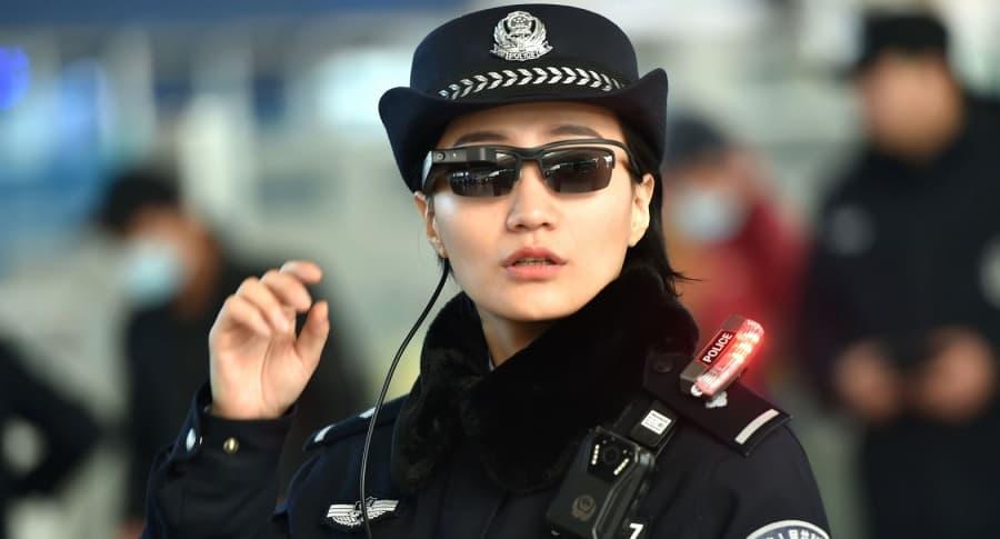 Gafas con tecnología china
