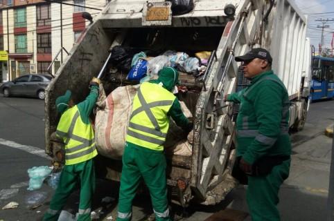 Camión recolectores de basura