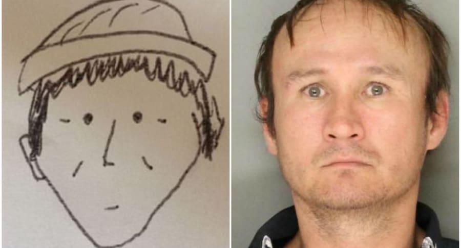 Dibujo sirvió para capturar a ladrón.
